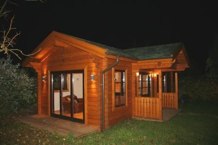 one bedroom log mobile homes