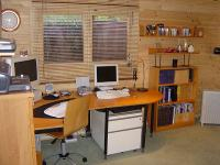 Log Cabin Office - Home Office