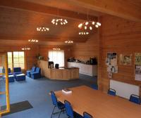 Bespoke Log Cabins - Mare Foal Sanctuary Log Offices Interior