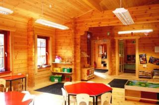 New Forest Log Cabins - Briary Pre-School Log Classroom 1